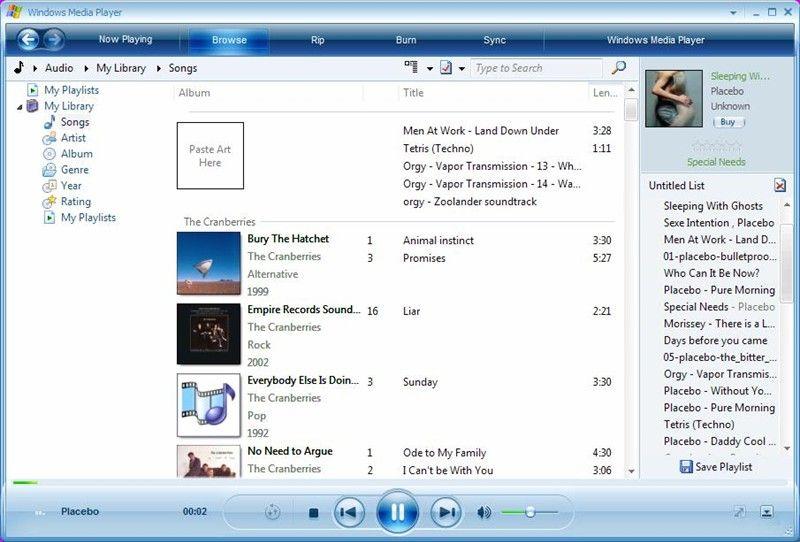 Windows media player российская версия для windows 10