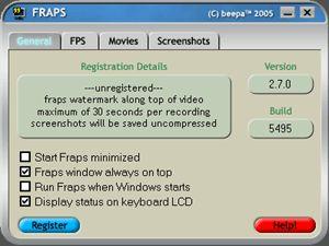 Fraps 3.1.1
