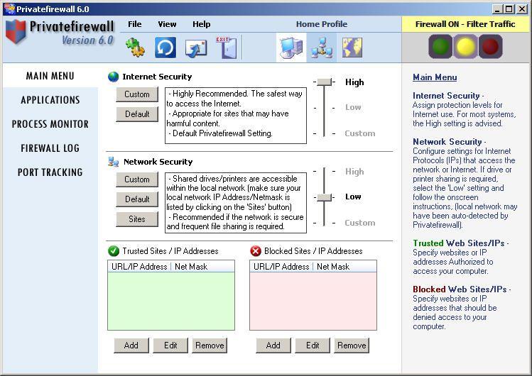 Privatefirewall 7.0.27.1 с ключом