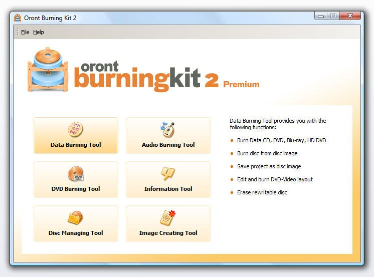 Oront Burning Kit Premium