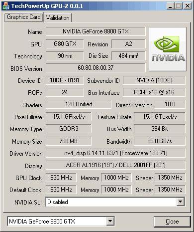 Обложка GPU-Z 0.3.8