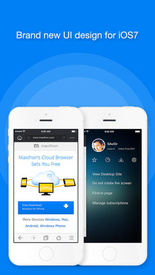 Maxthon (iPhone/iPad)
