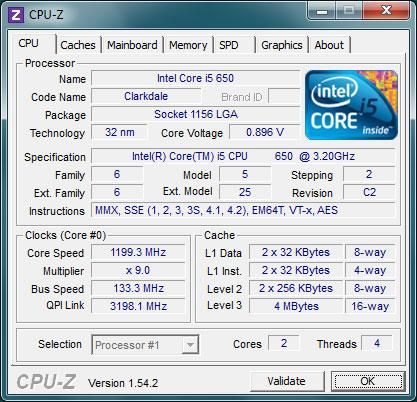 CPU-Z 1.60.1 с ключом