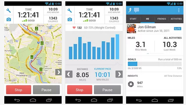 RunKeeper (Android)