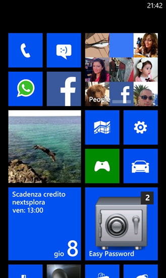 Easy Password (Windows Phone)
