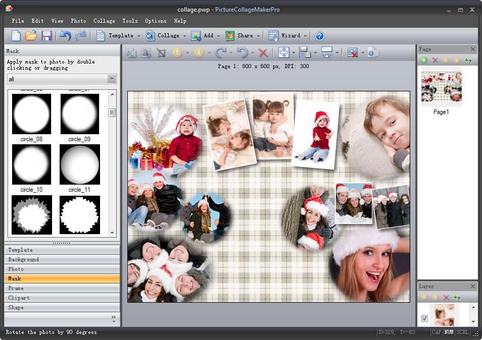 Программа для оформления открыток и фото онлайн, для презентации марта
