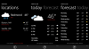 Microsoft Weather (Windows Phone)