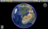 Скриншот Google Earth (Android)