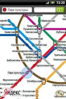 Описание: Вышла версия приложения Яндекс.Метро для Android.  Это, как вы понимаете, не просто календарик с картой...