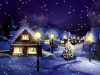 Christmas Snowfall Wallpaper