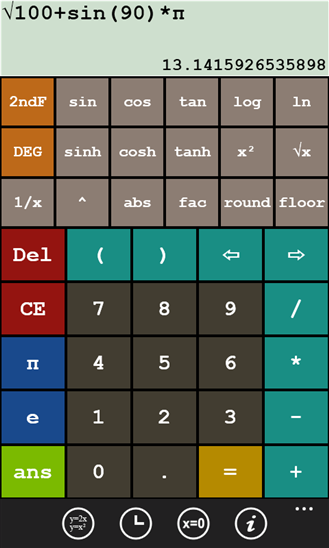 Grapher Calculator (Windows Phone)