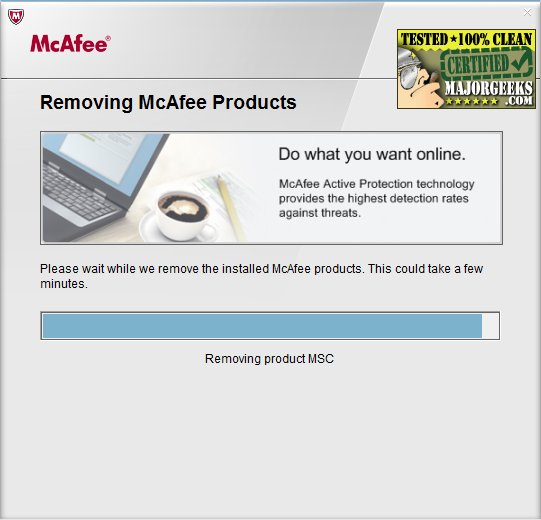 McAfee Removal Tool (MCPR)