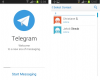 Скриншот Telegram Messenger (Android)