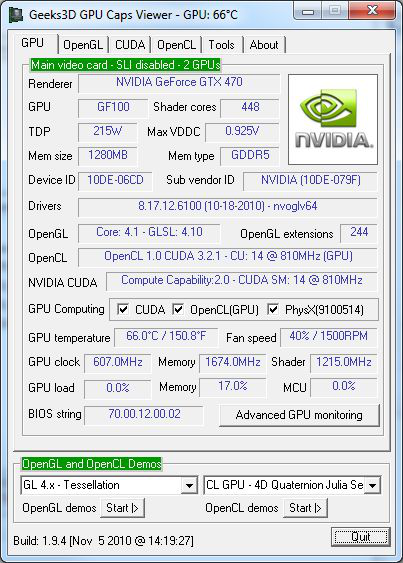 GPU Caps Viewer (Portable)